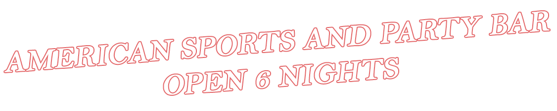 American Sports and Party Bar