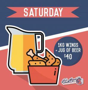 Saturday Food Promotion