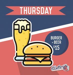 Thursday Food Promotion